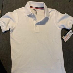 Brand new with tags! French toast uniform polo
